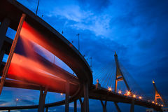 Bhumibol Bridge of Thailand Royalty Free Stock Photos