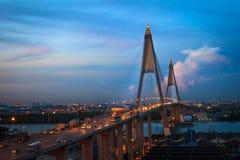 Bhumibol Bridge Stock Image