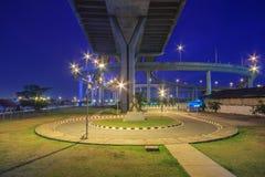 Bhumibol bro Arkivfoto