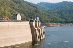 The Bhumibol Dam in Tak Province, Thailand Stock Photography