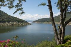 Bhumibol dam Tak Province ,Thailand. Royalty Free Stock Photos