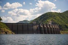 Bhumibol dam Tak Province ,Thailand. Royalty Free Stock Photography