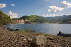 Bhumibol dam Tak Province ,Thailand. Stock Images
