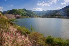 Bhumibol dam Tak Province ,Thailand. Stock Photos
