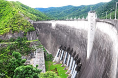 Bhumibol Dam, Tak Province, Thailand. Royalty Free Stock Photography