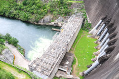 Bhumibol Dam, Tak Province, Thailand. Royalty Free Stock Photo