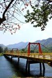 Bhumibol dam in Thailand Royalty Free Stock Photography