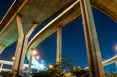 Bhumibol highway Bridge Stock Photos