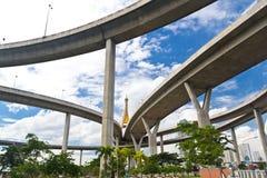 Bhumibol huge bridge Stock Photos
