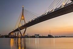 Bhumibol Most Zdjęcie Stock
