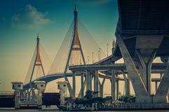 Bhumibol suspension Bridge Stock Image