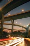 Bhumibolbrug de industriële ringsbrug of megabrug Royalty-vrije Stock Afbeelding