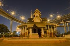 Bhumibolbrug in Thailand stock fotografie