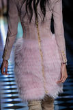 Bhumika Arora walks the runway during the Balmain show Stock Photos