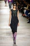 Bhumika Arora walks the runway during the Dries Van Noten show Royalty Free Stock Image