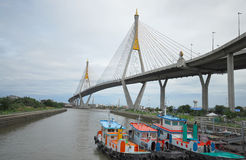 Bhumiphol Bridge Stock Image