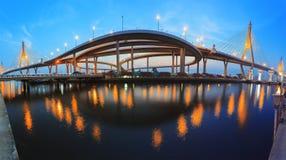 Bhumiphol bridge Royalty Free Stock Photo