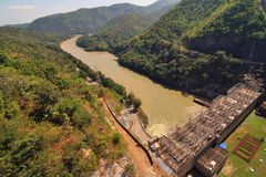 Bhumiphol dam Royalty Free Stock Photography