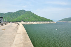 Bhumiphol dam in Tak, Thailand Royalty Free Stock Photo