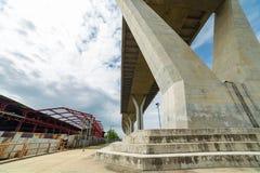 Bhumiphol Highway bridge Stock Photo