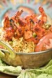 Bhuna Prawn, Bhoona Prawn. Royalty Free Stock Photography