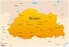 Bhután stock de ilustración