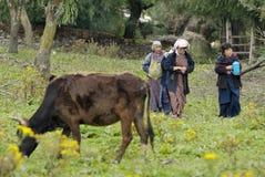 Bhután, Ura Imagen de archivo