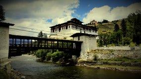 Bhutan świątynia Obrazy Royalty Free
