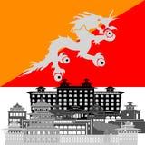 bhutan Foto de Stock Royalty Free