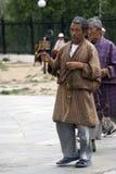 bhutan buddyjski pielgrzymi Thimphu Zdjęcia Stock