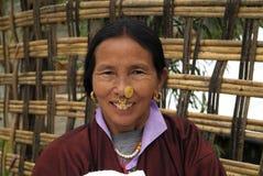 Bhutan, Bumthang Royalty-vrije Stock Foto's