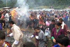 Bhutan, Bumthang, Stock Image