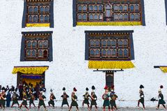 Bhutan Festival Stock Photo