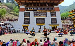 Bhutan Festival Stock Photos