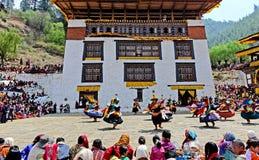 Bhutan Festival Stock Photos