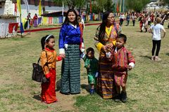 Bhutan Festival Royalty Free Stock Photography