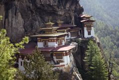 bhutan goemba taktshang Zdjęcia Royalty Free