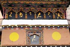 Bhutan Haa Arkivbild