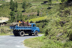 Bhutan, Haa, Royalty Free Stock Photography
