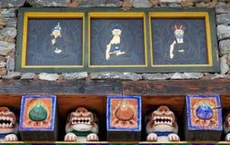 Bhutan-Kunst Stockfotografie