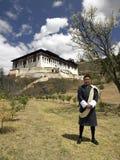 Bhutan - Mens Uit Bhutan stock fotografie