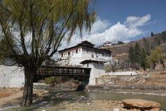 bhutan paro Fotografia Stock
