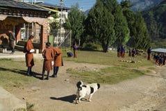 Bhutan, Paro, Royalty Free Stock Images