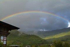 Bhutan, Paro-Vallei stock fotografie