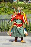 Bhutan-Tänzer Stockbild