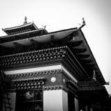 Bhutan Temple, in Bodh Gaya, India Stock Image
