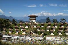 Bhutan Thimpu Arkivbilder