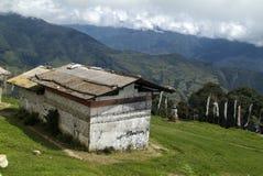 Bhutan, Trashigang stock afbeeldingen