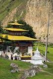 Bhutan Trashigang Royaltyfria Bilder