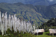 Bhutan, Trashigang, Stock Fotografie